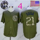 Sammy Sosa Jersey Chicago Cubs 21# Baseball Jersey, Stitched High Quality