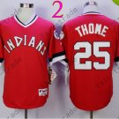 New Indians 1978 Throwback Jerseys 25 Jim Thome Stitched