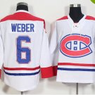 2016 Ice Hockey 6 Shea Weber Canadiens Jerseys Montreal White Color Shea Weber Jersey Men Stitched
