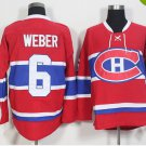 2016 Ice Hockey 6 Shea Weber Canadiens Jerseys Montreal Red Color Shea Weber Jersey Men Stitched