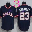 cleveland indians #23 michael brantley navy 2016 Baseball Jersey Rugby Jerseys Authentic