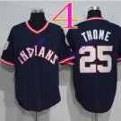 cleveland indians #25 Jim Thome navy 2016 Baseball Jersey Rugby Jerseys Authentic