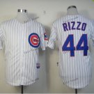 chicago cubs #44 anthony rizzo 2015 Baseball Jersey Rugby Jerseys Authentic Stitched White Style 1