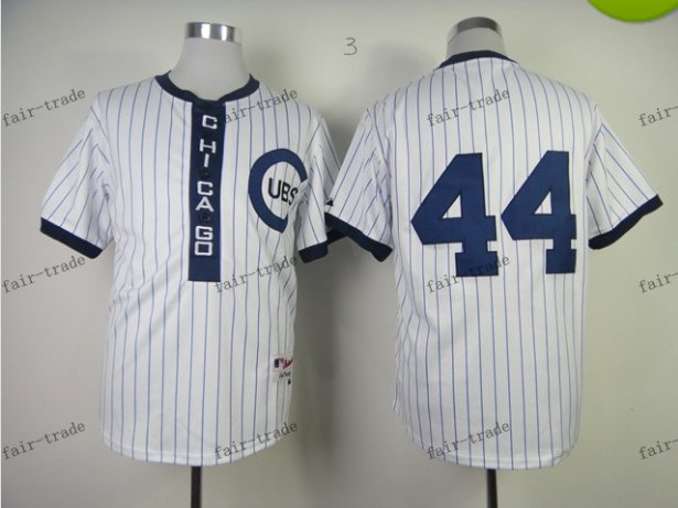 chicago cubs #44 anthony rizzo 2015 Baseball Jersey Rugby Jerseys Authentic Stitched White Style 4