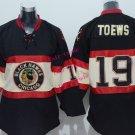 Chicago #19 Jonathan Toews Youth Ice Hockey Jerseys Kids Boys Stitched Jersey Black 3