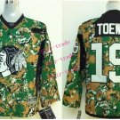 Chicago #19 Jonathan Toews Youth Ice Hockey Jerseys Kids Boys Stitched Jersey