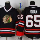 #65 Andrew Shaw Chicago Blackhawks Ice Hockey Home Black Mens Style 1