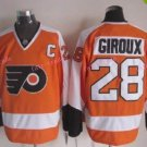 Men's Philadelphia Flyers Hockey Jerseys #28 Claude Giroux Orange Jersey 2012 Winter Classic Style 1
