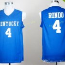 Kentucky Wildcats Jerseys 2017 College 4 Rajon Rondo Home Blue