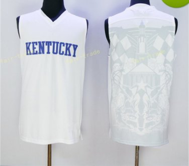 Kentucky Wildcats Jerseys 2017 College Home White