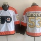Philadelphia Flyers 50th Anniversary Jerseys 2016 Hockey 53 Shayne Gostisbehere