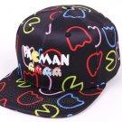 2017 New Fashion Baseball Cap Pacman Cartoon Funny Cotton Casual Hats Hip Hop Snapback Summer Cap