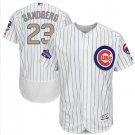 2017 Gold Flexbase Chicago Cubs #23 Ryne Sandberg Jersey