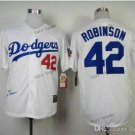 los angeles dodgers #42 jackie robinson 2015 Baseball Jersey White Rugby Jerseys Authentic Stitched