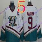 Cord Anaheim Ducks #9 Paul Kariya White Hockey Jersey Stitched