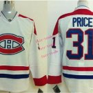 canadiens #31 carey price 2015 Ice Winter Jersey White Hockey Jerseys Authentic Stitched