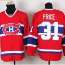canadiens #31 carey price 2015 Ice Winter Jersey Red Hockey Jerseys Authentic Stitched