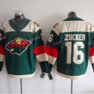 2016 Stadium Series Minnesota Wild Hockey Jerseys 16 Jason Zucker