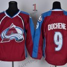 Duchene Ice Winter Jersey Purple Hockey Jerseys Authentic Stitched