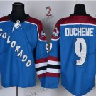 Duchene Ice Winter Jersey Blue Hockey Jerseys Authentic Stitched