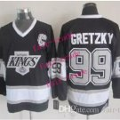 los angeles kings #99 wayne gretzky 2015 Ice Winter Jersey Black Hockey Jerseys Authentic Stitched
