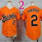 Baltimore Orioles Youth Jersey 2 J.J. Hardy Kid Orange