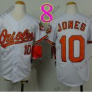 Baltimore Orioles Youth Jersey 10 Adam Jones Kid White