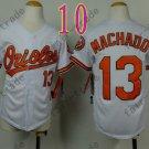 Baltimore Orioles Youth Jersey 13 Manny Machado Kid White