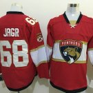 2016 Florida Panthers Ice Hockey Jerseys 68 Jaromir Jagr Red Best Quality