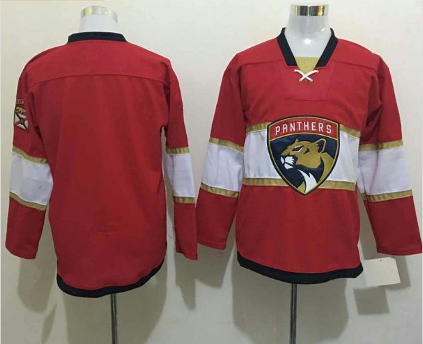 2016 Florida Panthers Ice Hockey Jerseys Red Best Quality