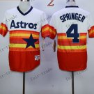 Houston Astros #4 george springer 2015 Baseball Jersey Authentic Stitched