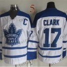 Toronto #17 Wendel Clark Throwback Vintage Jersey ICE Hockey Jerseys Heritage Stitched Style 1