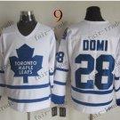 Toronto #28 Tie Domi Throwback Vintage Jersey ICE Hockey Jerseys Heritage Stitched Style 2