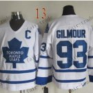 Toronto #93 Doug Gilmour Throwback Vintage Jersey ICE Hockey Jerseys Heritage Stitched Style 2