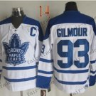 Toronto #93 Doug Gilmour Throwback Vintage Jersey ICE Hockey Jerseys Heritage Stitched Style 1