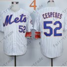 Yoenis Cespedes Jersey 2015 World Series Patch New York Mets Jersey Home Away White
