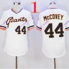 san francisco giants #44 willie mccovey 2016 Baseball Jersey  Authentic Stitched White Style 1