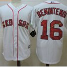 Boston Red Sox #16 Andrew Benintendi White Sitched Jerseys