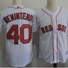 Boston Red Sox #40 Andrew Benintendi White Sitched Jerseys
