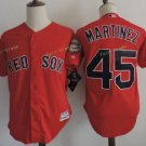 Boston Red Sox #45 Pedro Martinez Red Sitched Jerseys