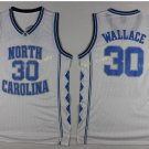 2017 North Carolina Tar Heels College 30 Rasheed Wallace White Jersey