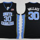 2017 North Carolina Tar Heels College 30 Rasheed Wallace Black Jersey