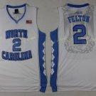 2017 North Carolina Tar Heels College #2 Jalek Felton White Jersey