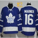 Toronto Maple Leafs #16 Mitchell Marner Blue 2017 Hockey Jerseys Ice Winter Jersey All Stitched