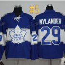 Toronto Maple Leafs 29 William Nylander Blue 2017 Hockey Jersey Ice Winter Jersey Stitched