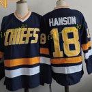 CHARLESTOWN CHIEFS #18 Jeff Hanson 2016 Hockey Jerseys Ice Winter Jersey All Stitched