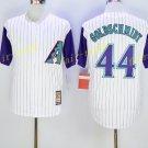 Vintage 44 Paul Goldschmidt Jersey White Arizona Diamondbacks Baseball Goldschmidt Style 3