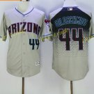 Vintage 44 Paul Goldschmidt Jersey Gray Arizona Diamondbacks Baseball Goldschmidt Style 2