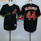 Vintage 44 Paul Goldschmidt Jersey Black Arizona Diamondbacks Baseball Goldschmidt Style 2