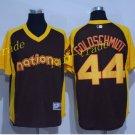 Vintage 44 Paul Goldschmidt Jersey Black Arizona Diamondbacks Baseball Goldschmidt Style 1